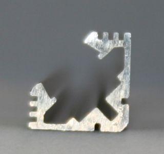 Aluminiumprofil Design 8 (Eckprofil)