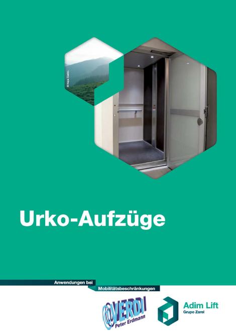 Katalog f�r Ukro-Aufz�ge